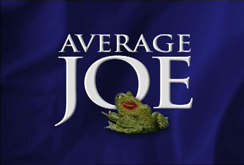 Average Joe logo NBC jason raff